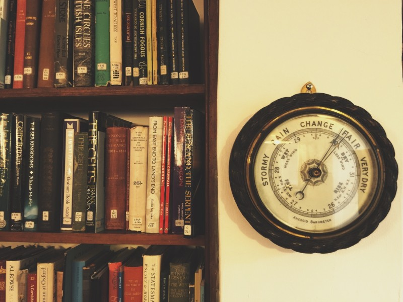 Barometer in the Jenner Room