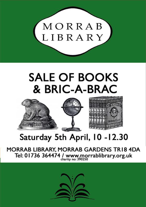 A4 Book and Bric a Brac sale 5 April web