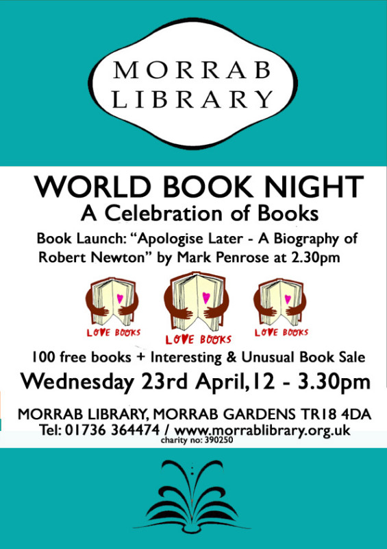A4 World Book Night 23 April copy