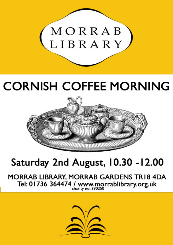 Cornish Coffee Morning 2 August