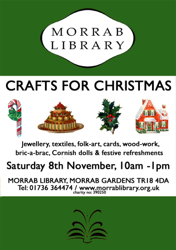 Crafts for Christmas Sat 8 Nov web