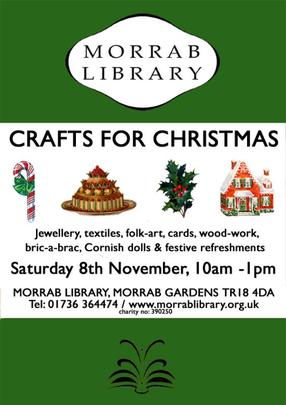 Crafts for Christmas Sat 8 Nov web