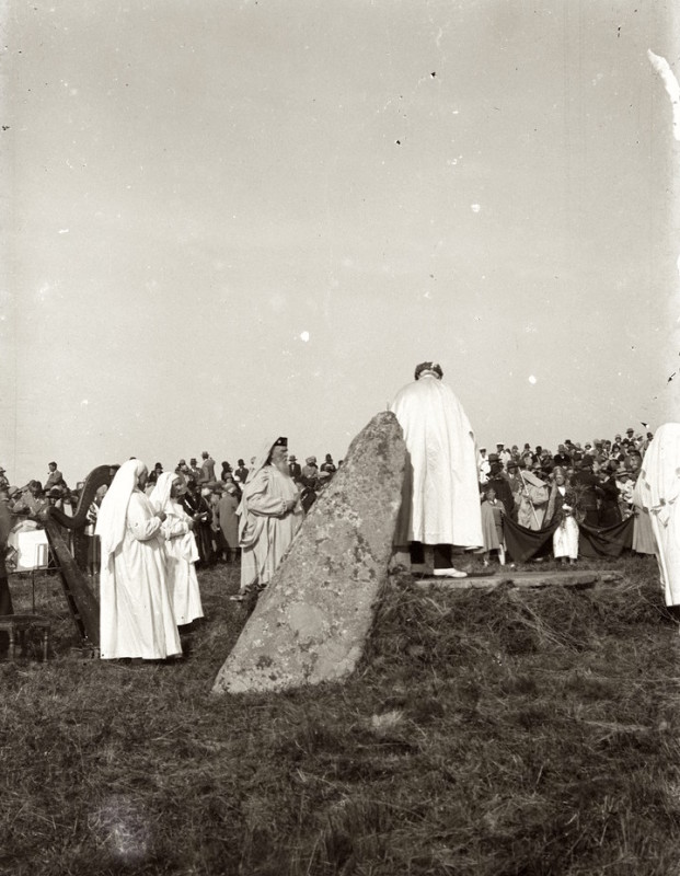 The first Gorsedh Kernow in 1928 with Grand Bard, Henry Jenner